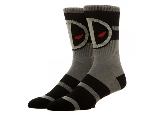 Marvel Deadpool X-Force Crew Socks by Bioworld