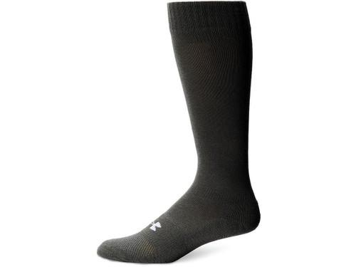 Under Armour Men's HeatGear® Boot Sock - Black (Size: Large)