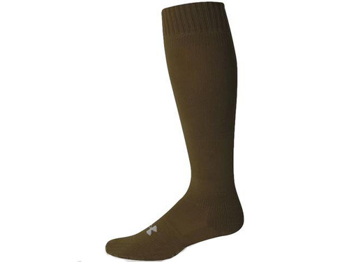 Under Armour Men's HeatGear® Boot Sock - Coyote Brown (Size: Large)