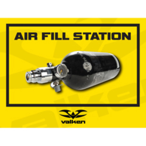 Valken Paintball Field Sign - Air Fill Station
