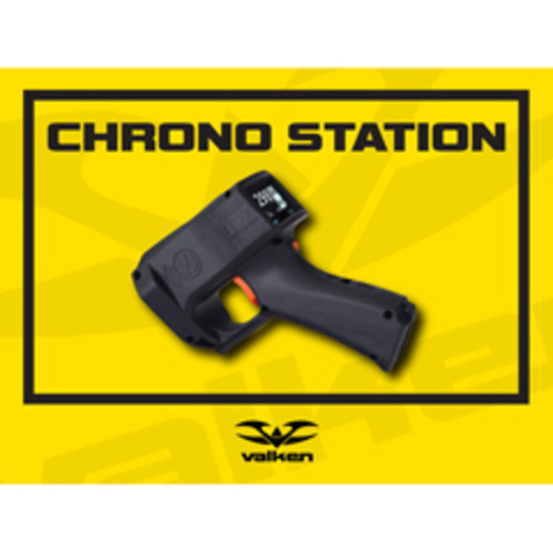 Valken Paintball Field Sign - Chrono Station