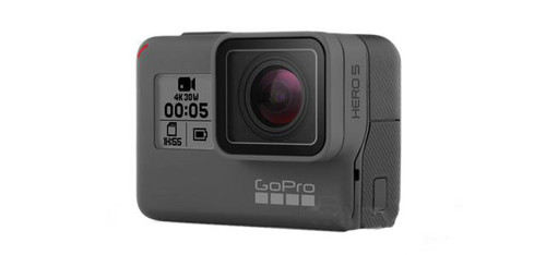 Promotional Special GoPro HD HERO5 Professional Wearable HD Camera w/ 3-Way Mount (Color: Black)