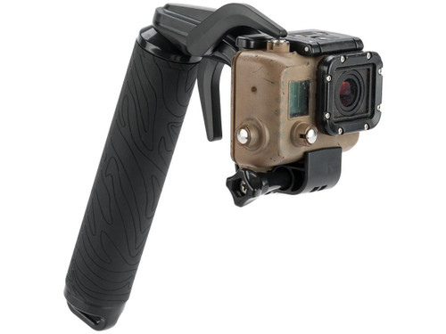 TMC P1 Trigger Grip for GoPro Hero3+ and Hero4 Action Cameras (Color: Black)