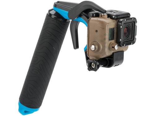 TMC P1 Trigger Grip for GoPro Hero3+ and Hero4 Action Cameras (Color: Blue)