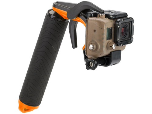 TMC P1 Trigger Grip for GoPro Hero3+ and Hero4 Action Cameras (Color: Orange)