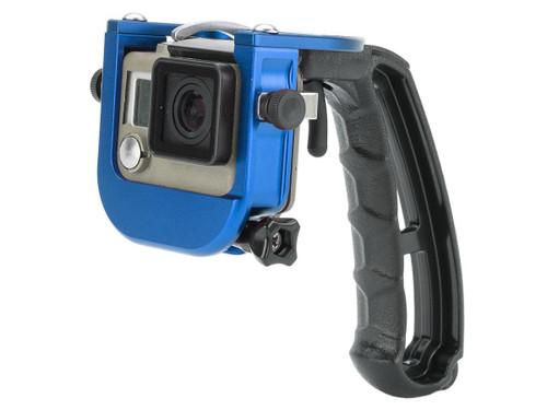 TMC P4 TRIGGER for Gopro 3 Plus & 4 (Color: Blue)