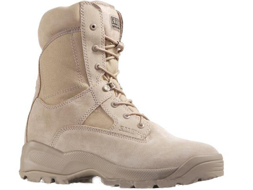 """5.11 Tactical A.T.A.C 8"""" Coyote Boots (Size: 11)"""