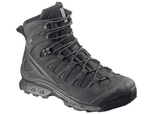 Salomon Quest 4D GTX® Forces Tactical Boots - Black / Asphalt (Size: 10)