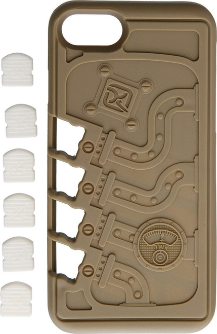 Stowaway EDC iPhone7 Case Tan