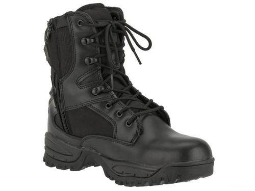 Tru-Spec Tactical Side Zipper Boots - Black (Size: 9)