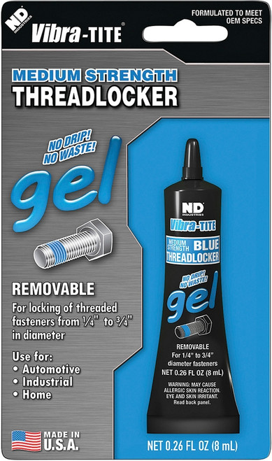 Vibra-Tite Threadlocker 8ml Gel [Medium Strength]