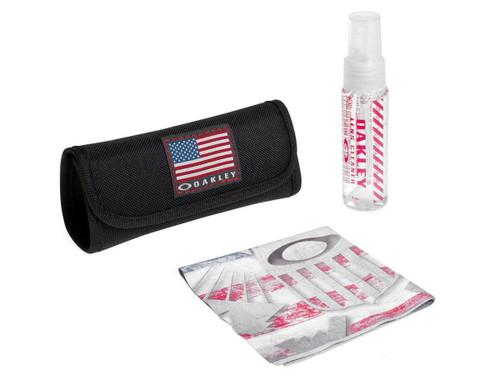 Oakley US Flag Lens Cleaning Kit