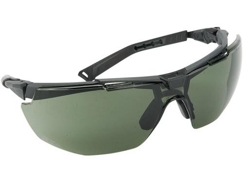 Univet 5X1 Platform Multifunctional Safety Glasses (Color: Smoke)