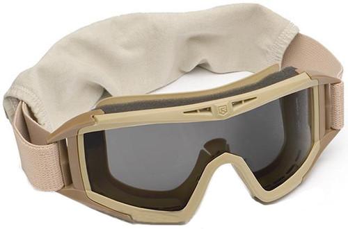 Revision Desert Locust Tactical Goggles - Basic (Tan / Solar)