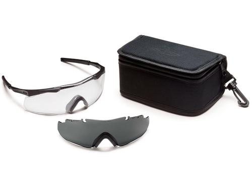 Smith Optics Aegis ARC ANSI Rated Goggles (Color: Black / Clear & Smoke)