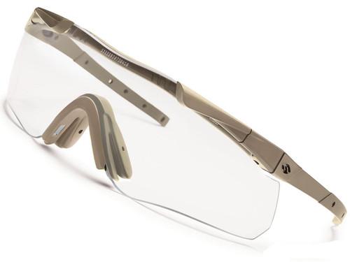 Smith Optics Aegis Echo II ANSI Rated Goggles (Color: Tan / Clear)
