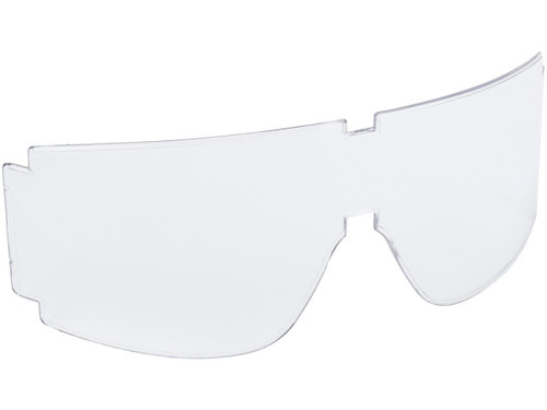 Spare lens for BOLLE Guarder T-800 GX-800 GX-1000 Series Shooting Goggles - Version 2.0 (Color: Clear)