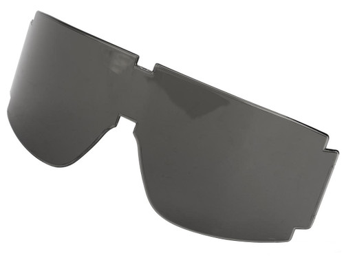 Spare lens for BOLLE Guarder T-800 GX-800 GX-1000 Series Shooting Goggles - Version 2.0 (Color: Smoke)