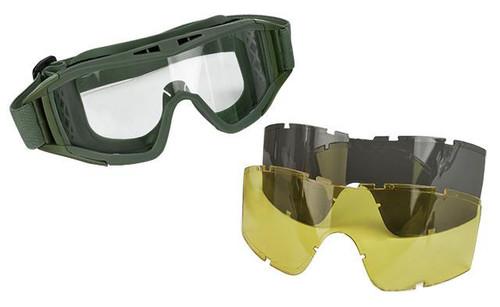 Valken VTAC Tango Tactical Goggles - OD