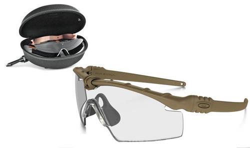 Oakley SI Ballistic M Frame 3.0 Array - Dark Bone w/ Clear Persimmon & Grey Lenses