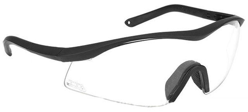 TTD No Fog Tactical Military Spec Ballistic Shooting Glasses (Color: Clear)