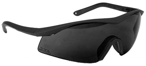 TTD No Fog Tactical Military Spec Ballistic Shooting Glasses (Color: Smoke)