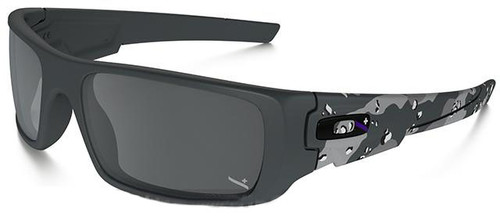 Oakley Infinite Hero Crankshaft - Matte Carbon Camo with Black Iridium Lenses