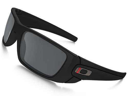 Oakley SI Fuel Cell - Thin Red Line Black w/ Black Iridium Lenses