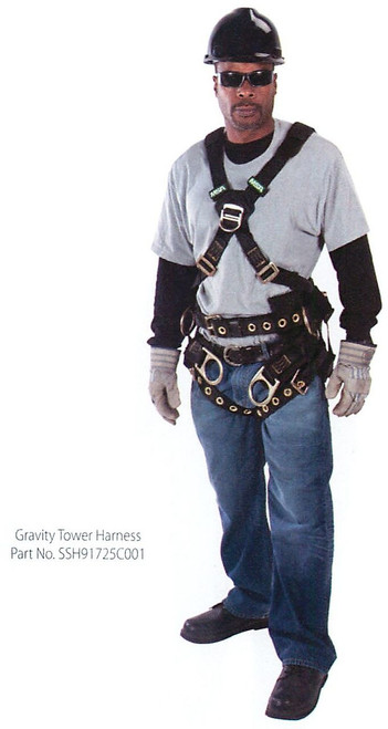 MSA Gravity Tower Full Body Harness