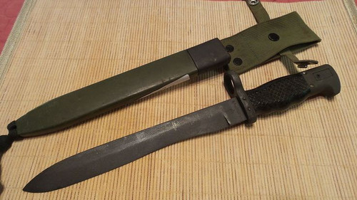 Spanish Military CETME Bayonet