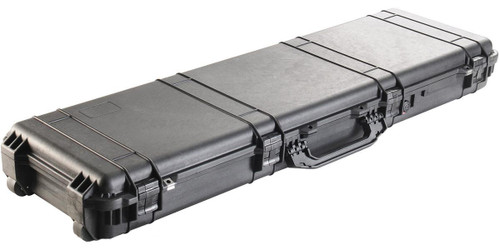 Pelican 1750 WL/WF Long Rifle Case w/ Wheels - Black