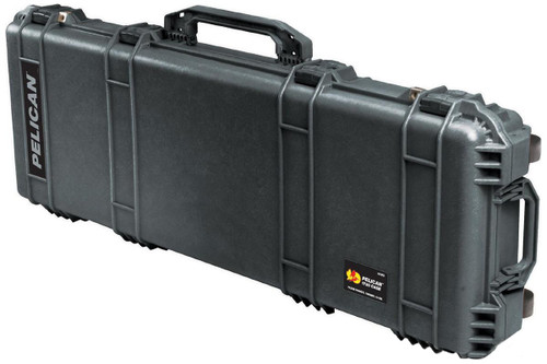 Pelican 1720 WL/WF Long Rifle Case w/ Wheels - Black
