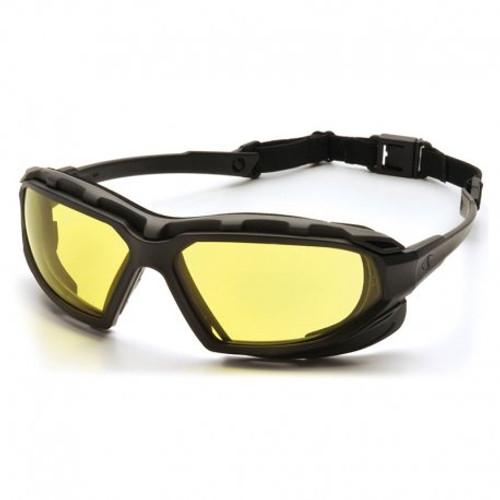 Pyramex Highlander Plus Airsoft Goggles - Yellow