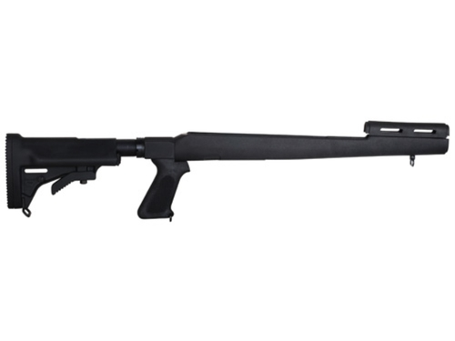 Choate 5-Position Collapsible Rifle Stock w/Pistol Grip SKS Synthetic - Black