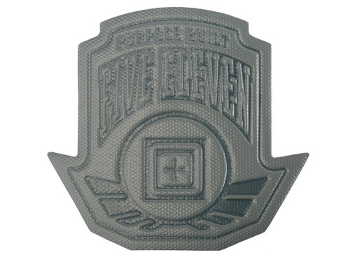 """5.11 Tactical """" Wing Shot"""" Embossed Silicone Patch (Color: Double Tap)"""