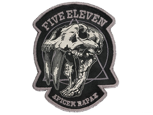 """5.11 Tactical """"Apex Predator"""" Embroidered Morale Patch (Color: Double Tap)"""