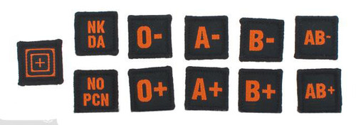 5.11 Tactical Blood Type Patch Kit