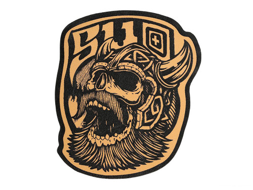 """5.11 Tactical Leather """"Viking"""" Morale Patch"""
