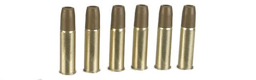 Spare Brass Shells for WinGun Dan Wesson Colt Umarex Smith & Wesson 4.5mm (.177) Co2 Airgun Revolvers - Set of 6