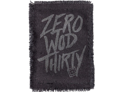 """5.11 Tactical """"Zero WOD Thirty"""" Embroidered Morale Patch"""