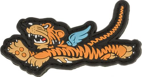 Aprilla Design PVC IFF Hook & Loop Patch - Flying Tiger