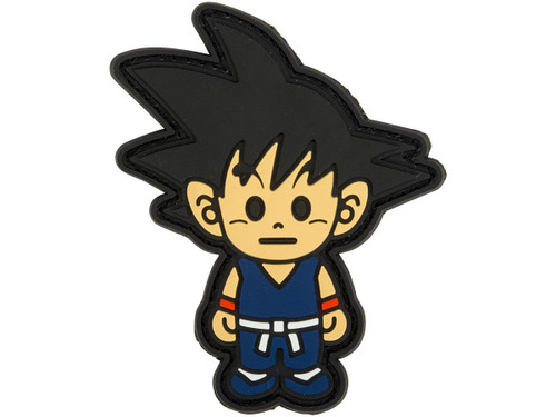Aprilla Design PVC IFF Hook & Loop Patch - Goku