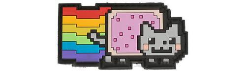 Aprilla Design PVC IFF Hook & Loop Patch - Nyan Cat