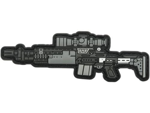 Aprilla Design PVC IFF Hook and Loop Modern Warfare Series Patch (Gun: EBR)