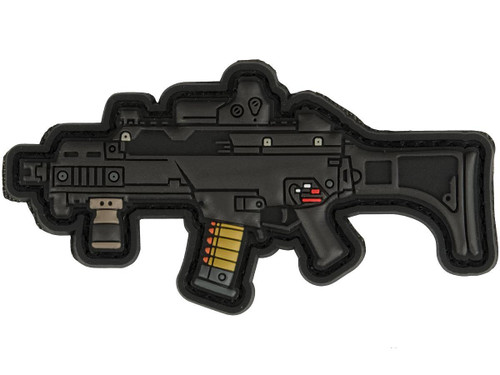 Aprilla Design PVC IFF Hook and Loop Modern Warfare Series Patch (Gun: G36)