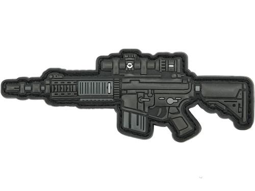 Aprilla Design PVC IFF Hook and Loop Modern Warfare Series Patch (Gun: MK12)