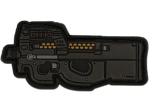 Aprilla Design PVC IFF Hook and Loop Modern Warfare Series Patch (Gun: P90)