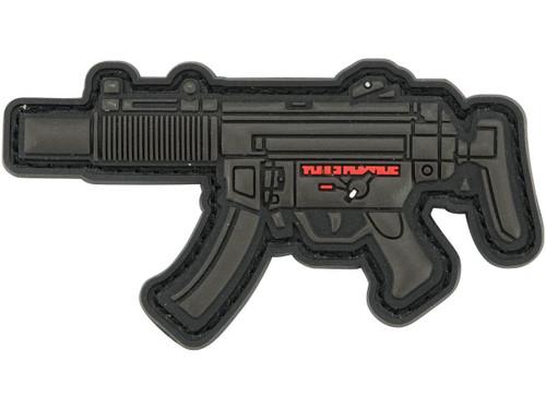 Aprilla Design PVC IFF Hook and Loop Modern Warfare Series Patch (Gun: Mp5 SD)