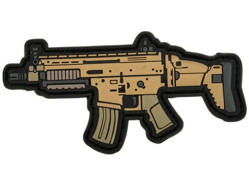 Aprilla Design PVC IFF Hook and Loop Modern Warfare Series Patch (Gun: SCAR 16)