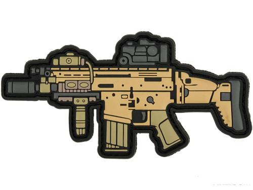 Aprilla Design PVC IFF Hook and Loop Modern Warfare Series Patch (Gun: SCAR-H)
